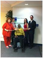 Recruit Disability job board launch celebration