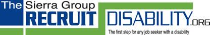 Recruit Disability Logo